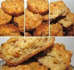«Ржаные маффины с сыром и жаренным луком» - приготовления блюда - шаг 3