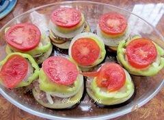«Баклажаны с мясом и овощами» - приготовления блюда - шаг 4