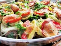 «Баклажаны с мясом и овощами» - приготовления блюда - шаг 6