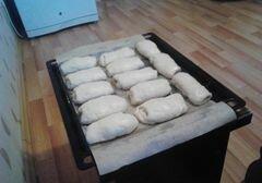 «Булочки с яблочным джемом» - приготовления блюда - шаг 4
