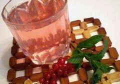 «Компот из красной смородины и свежей мяты» - приготовления блюда - шаг 6