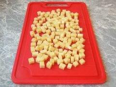 «Котлеты с сырной начинкой.» - приготовления блюда - шаг 3