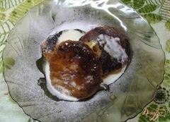 «Сырники тушеные в сметанном соусе» - приготовления блюда - шаг 4