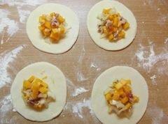 «Хинкали с тыквой» - приготовления блюда - шаг 6
