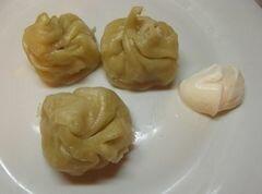 «Хинкали с тыквой» - приготовления блюда - шаг 8
