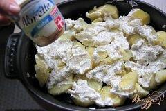 «Картофельно-сырный гарнир» - приготовления блюда - шаг 2