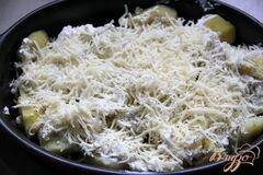 «Картофельно-сырный гарнир» - приготовления блюда - шаг 4
