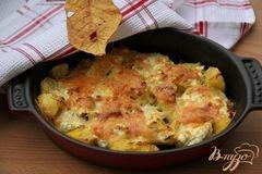 «Картофельно-сырный гарнир» - приготовления блюда - шаг 5