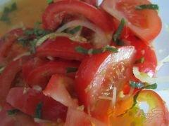 «Салат из свежих помидор с имбирем» - приготовления блюда - шаг 5