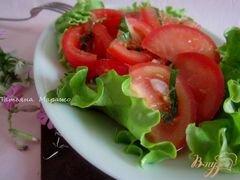 «Салат из свежих помидор с имбирем» - приготовления блюда - шаг 6