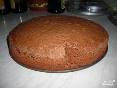 «Торт с консервированными персиками» - приготовления блюда - шаг 2