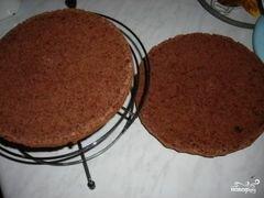«Торт с консервированными персиками» - приготовления блюда - шаг 3