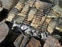 «Шашлык из карпа» - приготовления блюда - шаг 6