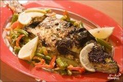 «Шашлык из карпа» - приготовления блюда - шаг 7