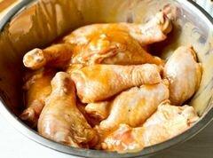«Куриные ножки в медово-горчичном маринаде» - приготовления блюда - шаг 2