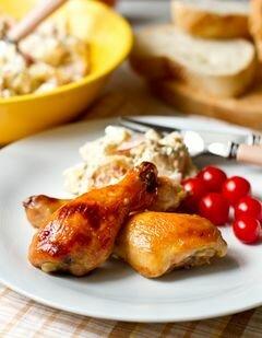 «Куриные ножки в медово-горчичном маринаде» - приготовления блюда - шаг 3