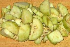 «Овощное рагу» - приготовления блюда - шаг 1
