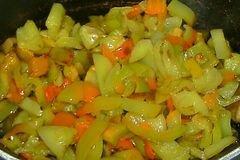 «Овощное рагу» - приготовления блюда - шаг 6