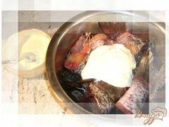 «Карась под сметаной.» - приготовления блюда - шаг 2