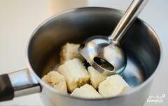 «Банановый пудинг с какао» - приготовления блюда - шаг 1
