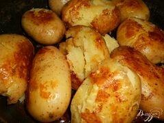 «Тающий картофель» - приготовления блюда - шаг 3