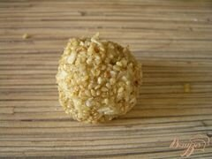 «Печенье гхуриба с кунжутом» - приготовления блюда - шаг 3