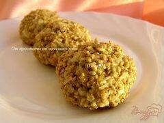 «Печенье гхуриба с кунжутом» - приготовления блюда - шаг 4