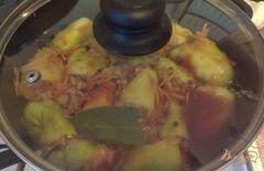 «Фаршированные мини-перчики» - приготовления блюда - шаг 10