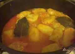 «Фаршированные мини-перчики» - приготовления блюда - шаг 11