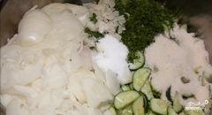 «Салат из огурцов на зиму» - приготовления блюда - шаг 6