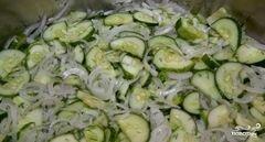 «Салат из огурцов на зиму» - приготовления блюда - шаг 7