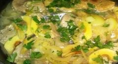 «Мясо с айвой» - приготовления блюда - шаг 7