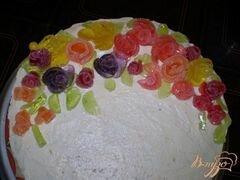 «Мармеладные цветы» - приготовления блюда - шаг 3