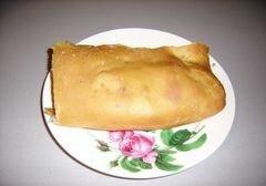 «Рыбный пирог» - приготовления блюда - шаг 12