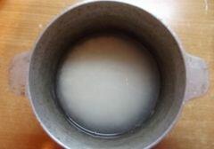 «Восточный рис с кальмаром» - приготовления блюда - шаг 1