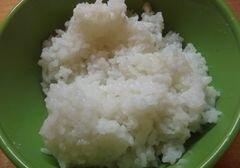 «Восточный рис с кальмаром» - приготовления блюда - шаг 4