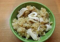 «Восточный рис с кальмаром» - приготовления блюда - шаг 7