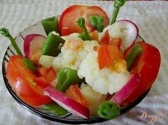 «Салат из вареных овощей» - приготовления блюда - шаг 4