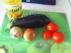 «Салат из баклажанов.» - приготовления блюда - шаг 1