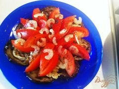 «Салат из баклажанов.» - приготовления блюда - шаг 12