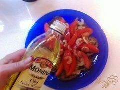 «Салат из баклажанов.» - приготовления блюда - шаг 13