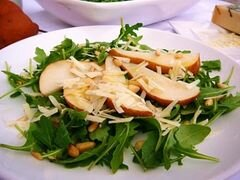 «Грушевый салат с рукколой» - приготовления блюда - шаг 5