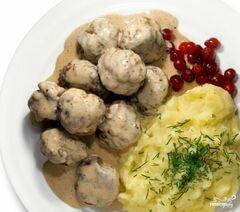 «Тефтели по-шведски» - приготовления блюда - шаг 8