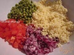 «Легкий салат с крупой» - приготовления блюда - шаг 1