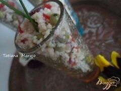 «Легкий салат с крупой» - приготовления блюда - шаг 4