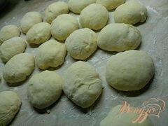 «Молочные булочки с начинкой.» - приготовления блюда - шаг 3