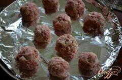 «Фрикадельки по - строгановски» - приготовления блюда - шаг 2