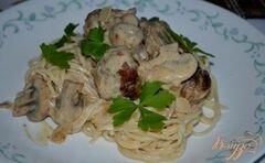 «Фрикадельки по - строгановски» - приготовления блюда - шаг 4