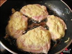 «Куриное филе в сырном кляре» - приготовления блюда - шаг 4