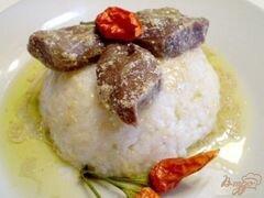«Утиные желудки тушенные в вине» - приготовления блюда - шаг 5